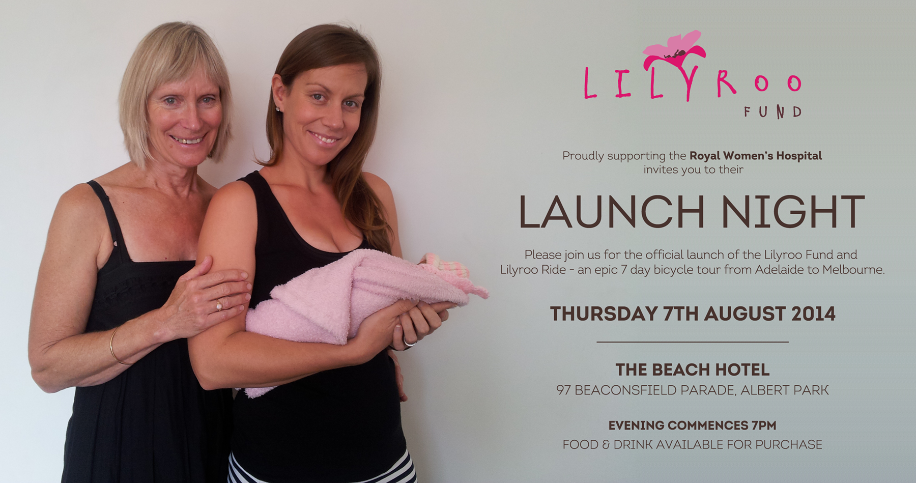 Lilyroo Fund launch night poster