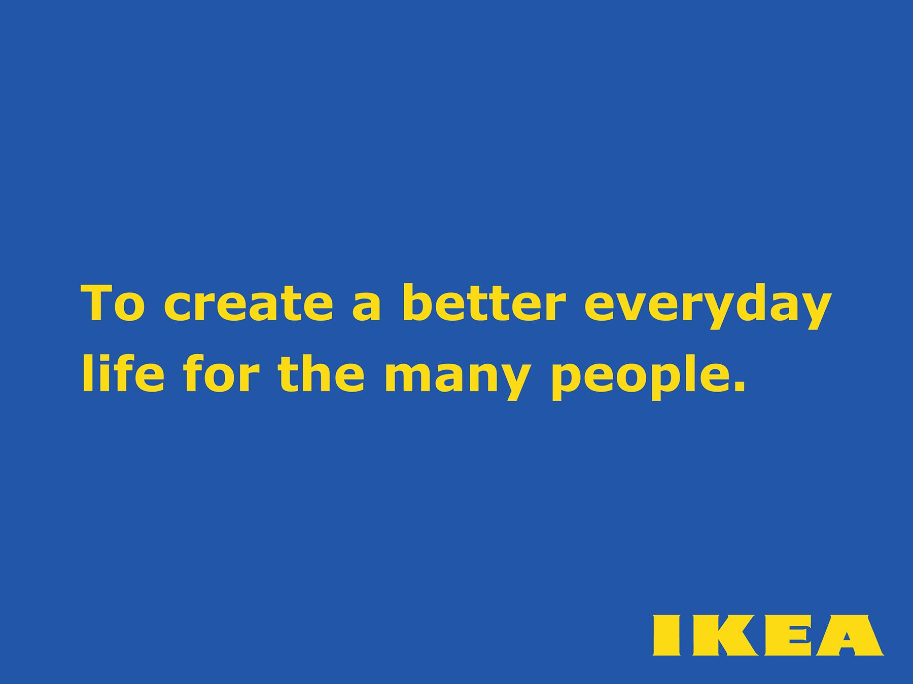 IKEA brand promise