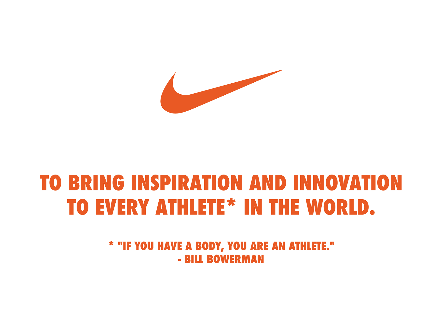 Nike brand promise - Nike's dedication to and consistent pursuit of its brand promise builds trust with its customers