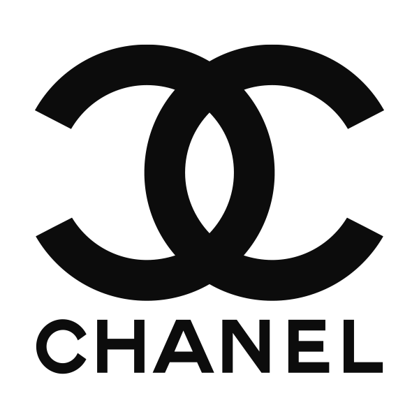 The Chanel logo exudes feeling of elegance and distinction through its use of the colour black