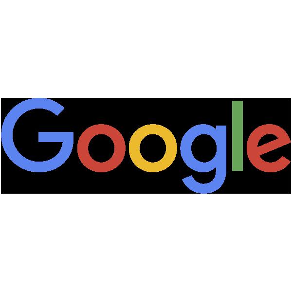 The multi-coloured Google logo symbolises the boundless, multidisciplinary company that Google is.