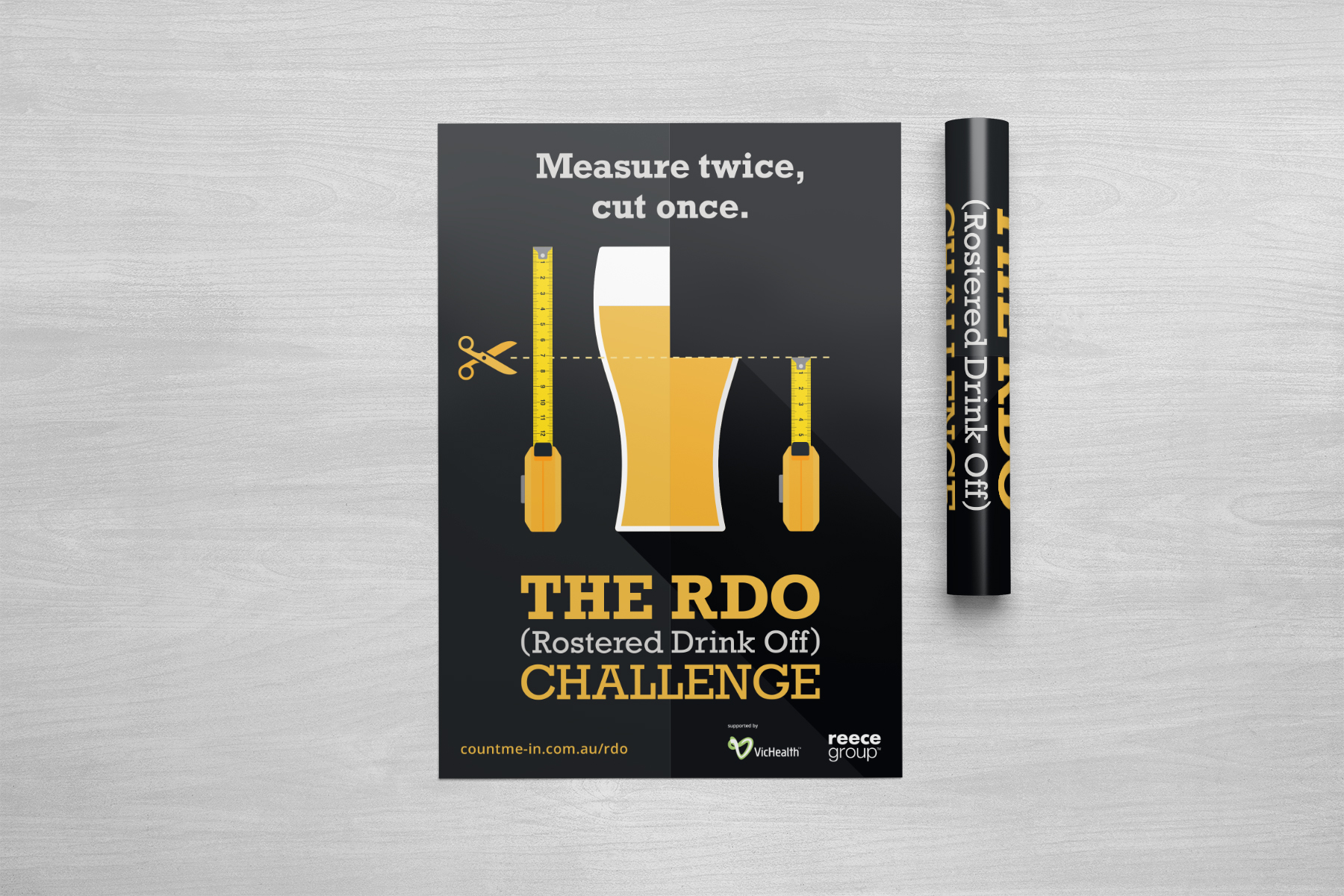 Count Me In RDO Challenge Poster 3