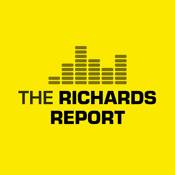 The Richards Report Logo Concept 3 by Six Foot Seven