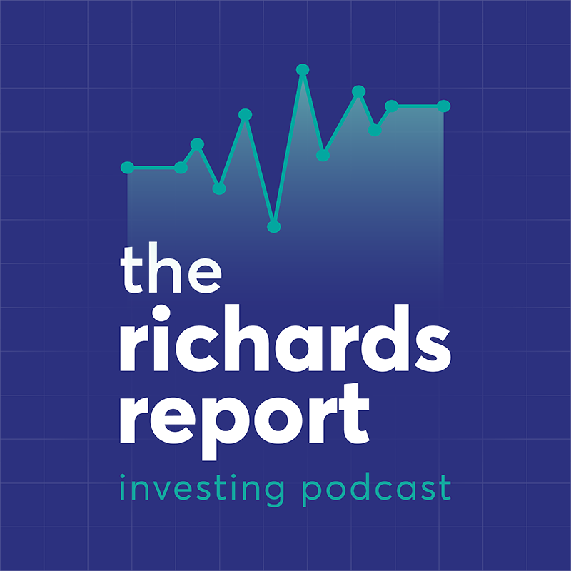 The Richards Report Reverse Logo designed by Six Foot Seven