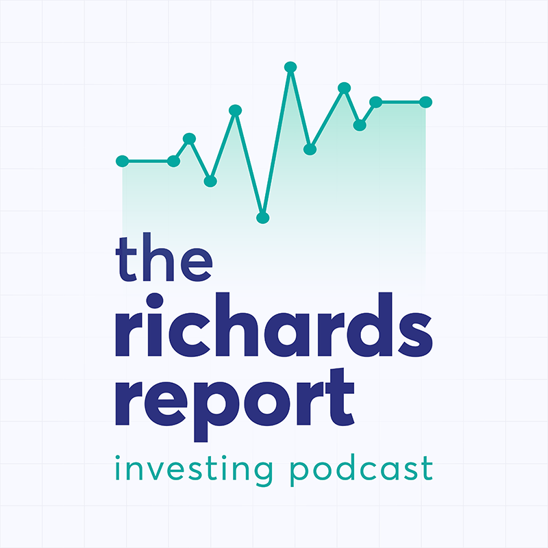 The Richards Report Logo designed by Six Foot Seven