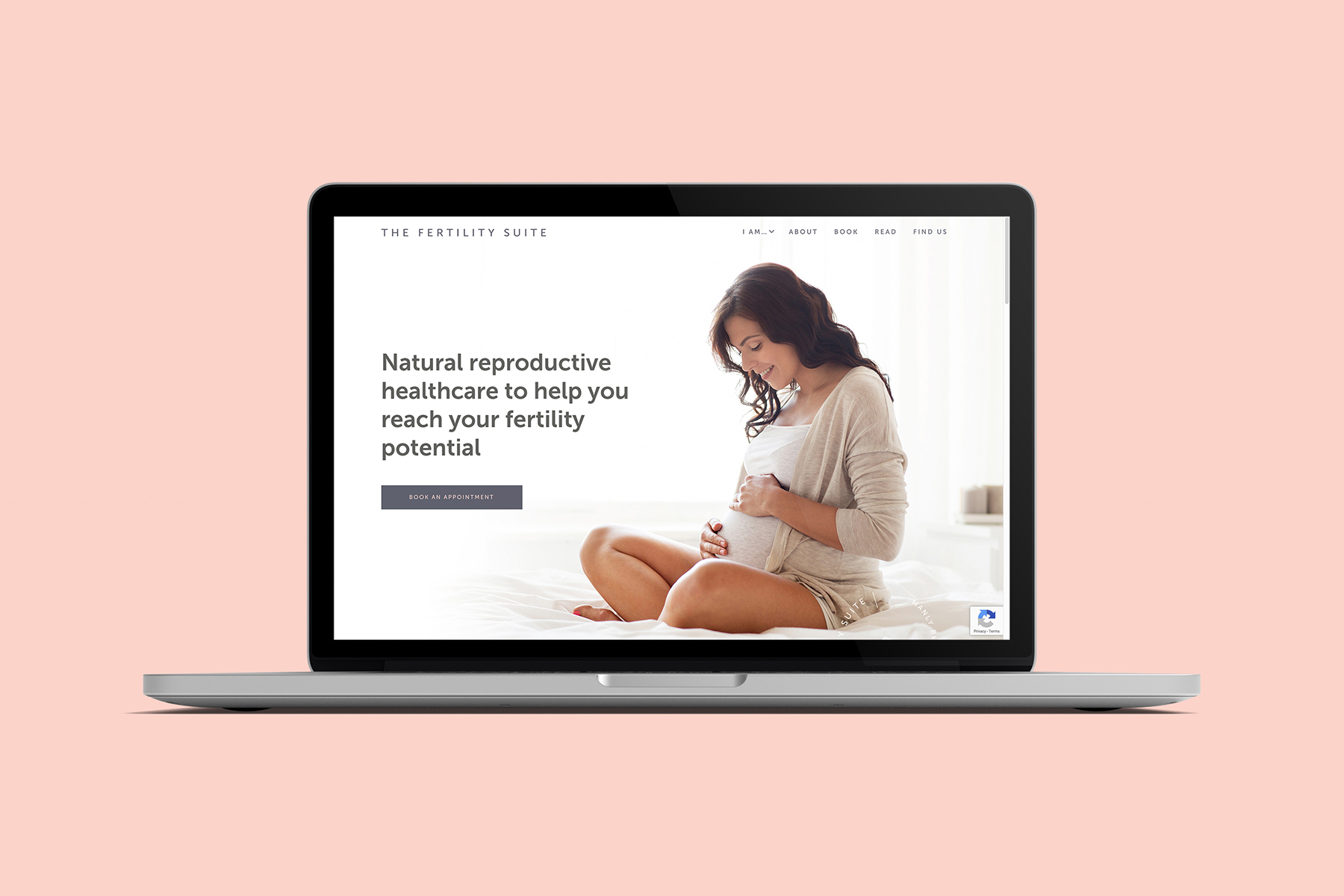 The Fertility Suite website homepage designed by Six Foot Seven