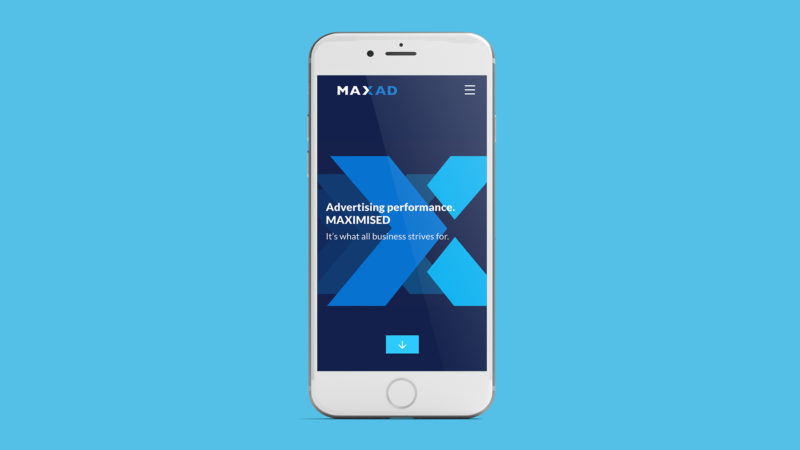 MaxAd Brand, Identity and Website