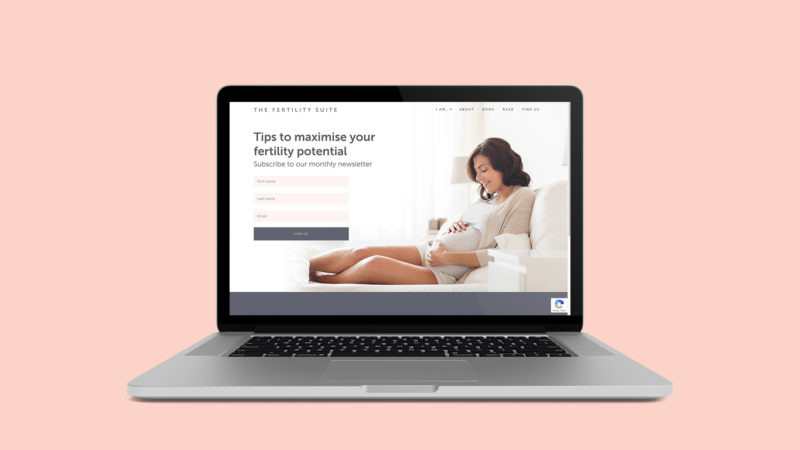 Fertile ground – The Fertility Suite website