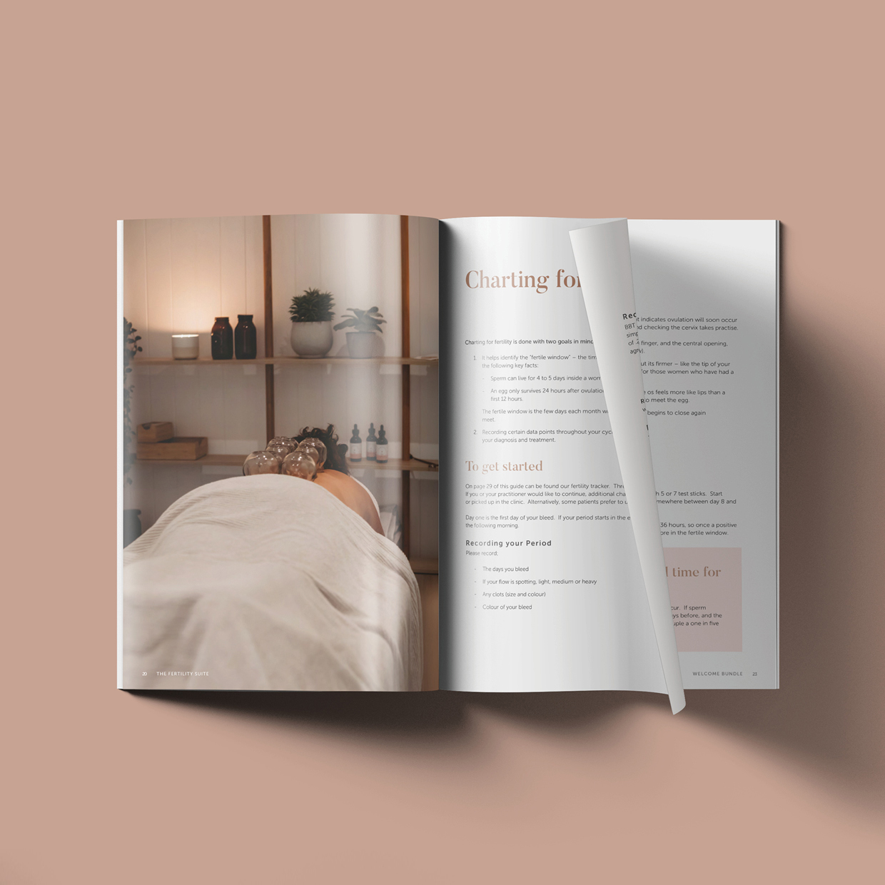 The Fertility Suite Welcome Bundle eBook designed by Six Foot Seven